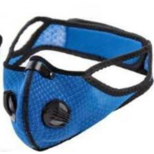 1ADOPLPH replaceable filters  mask (ocean blue)
