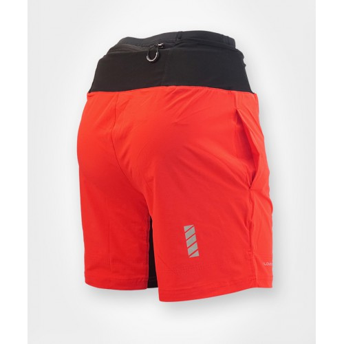 ILoveRunning Sherpa Shorts RED